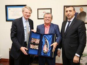 Hollanda Büyükelçisi Cornelıs Van Rıj ATO'da