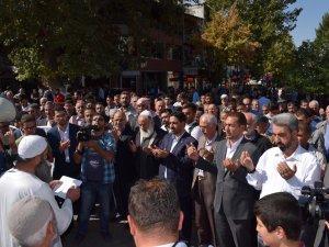 Malatya'da 6-8 Ekim protestosu