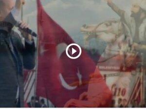 """Yeni """"Dombra"""" mı? İşte Erdoğan marşı"""