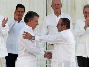 Kolombiya Devlet Başkanı Nobel Barış Ödülü'ne layık görüldü