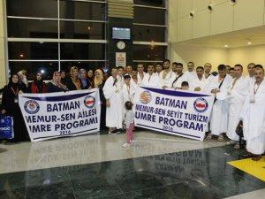 Batman Memur-Sen Grubu Kutsal Topraklardan döndü