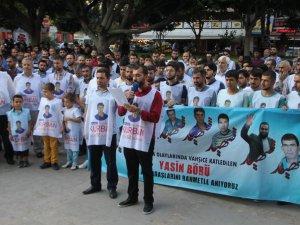 Adana'da Yasin Börü ve arkadaşlarını katleden katillerine lanet yağdı