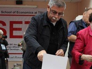 Gürcistan'da  oy kullanma işlemi tamamlandı