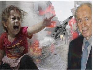 Barış adamı diye yutturulan siyonist bir katil!