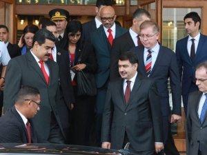 Venezüella Devlet Başkanı Maduro, Türkiye'yede