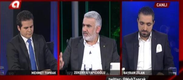 Hüda Par Genel Başkanı Yapıcıoğlu Kanal A'da Canlı İzle