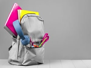 Sırt çantasına dikkat edilmeli!