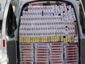 565 bin paket kaçak sigara ele geçirildi