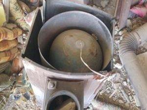 Soba içerisinde tuzaklanmış bomba bulundu