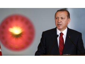 Cumhurbaşkanı Erdoğan'ın AYM'nin gerekçeli kararına açıklama