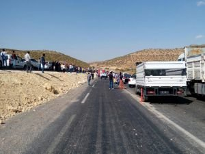 Diyarbakır-Mardin Yolunda Patlama!