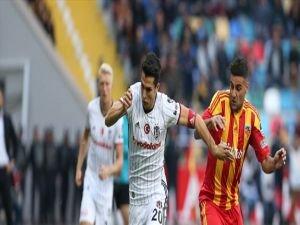 Beşiktaş Kayseri'de tek golle galip!