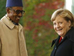 Nijerya lideri, Merkel'in yerini belirledi
