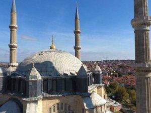 Edirne'de tarihi yapıların kurşunları yenileniyor