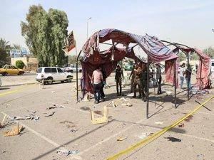 Yas çadırına intihar saldırısı