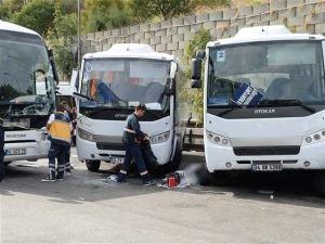 Büyük İstanbul Otogarı'nda feci kaza!