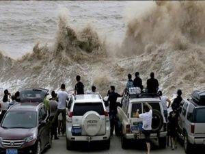 Çin'de tayfun alarmı!