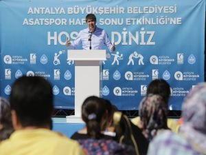 Spor şehri Antalya