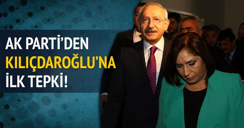 AK Parti'den Kılıçdaroğlu'na cevap gecikmedi
