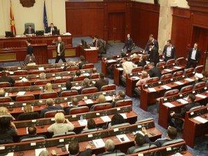 Makedonya Meclisi feshedildi