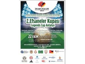 """""""Efsaneler Kupası"""" 22 Ekim Cumartesi günü başlıyor"""