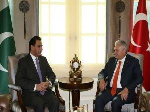 Başbakan Yıldırım, Pakistan Milli Meclis Başkanını kabul etti