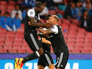 Beşiktaş, Napoli'yi yıktı