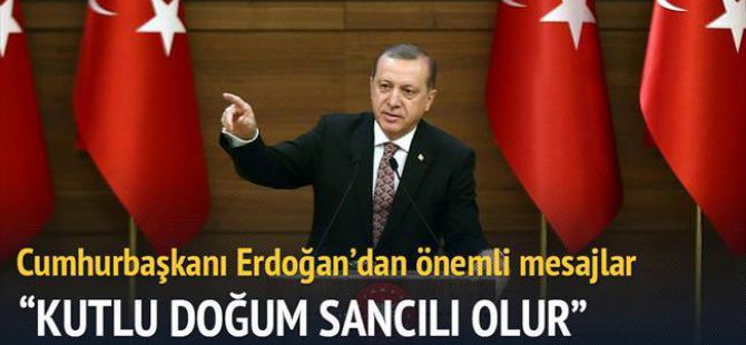 Erdoğan: Yüksek faiz savunucuları yatırım düşmanıdır