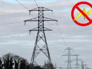 Batman'da Pazar günü elektrik kesintisi uyarısı