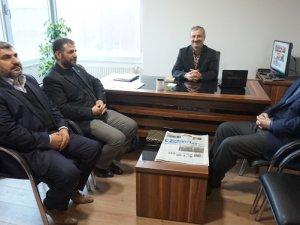 HÜDA PAR'dan basın ziyaretleri