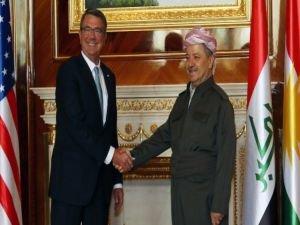 ABD Savunma Bakanı Kuzey Irak'ta