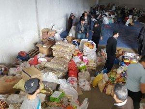 Yardımeli Derneği'nden çatışma bölgesindeki halka yardım!