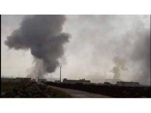 Türkiye Azez'i top atışıyla vuruyor