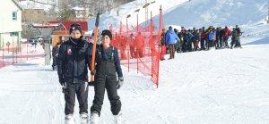 Bitlis'te kış kayak sezonu başladı
