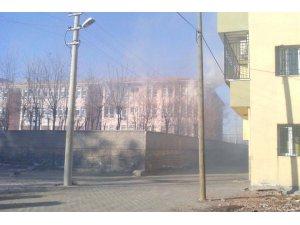 İdil'de okul yaktılar!
