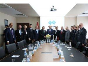 ATO'dan Çalışma ve Sosyal Güvenlik Bakanı Soylu'ya ziyaret