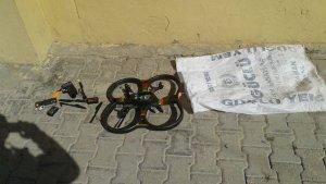 O ilçede drone ele geçirildi!