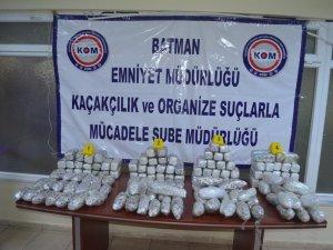 2015'te silah ve uyuşturucu kaçakçısı 51 kişi tutuklandı
