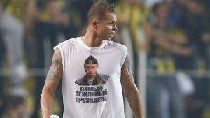 Rus futbolcudan kışkırtıcı tişört!