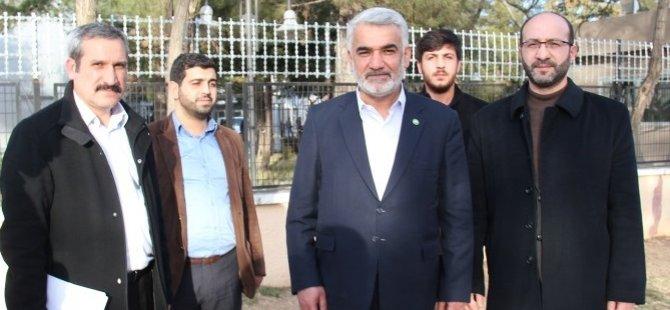 Yapıcıoğlu seçim yasağı nedeniyle savcılığa ifade verdi