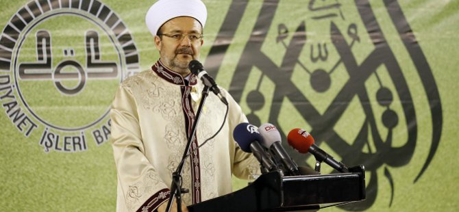 Görmez: Regaip Kandili insanlığa ve İslam dünyasına barış getirsin