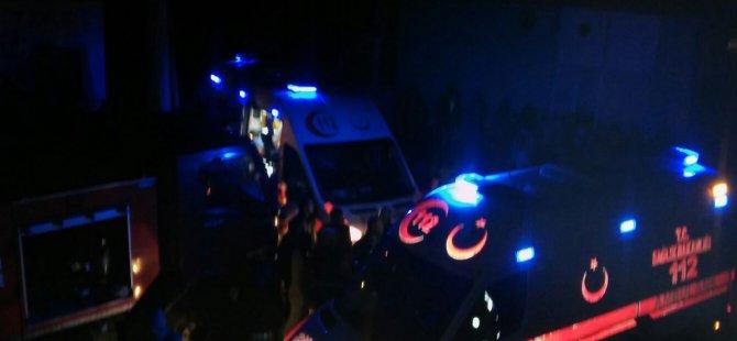 Mardin'de bir evde yangın çıktı