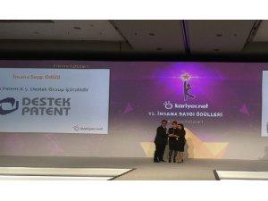 Destek Patent'e İnsana Saygı Ödülü