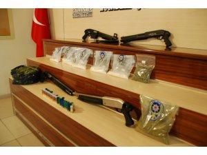 Gaziantep'te büyük uyuşturucu operasyonu!