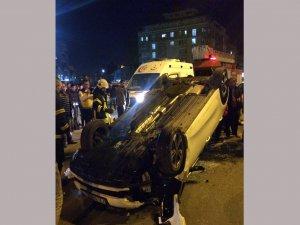 Batman'da meydana gelen kazada maddi hasar oluştu