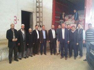 Diyanet'ten Nusaybin mağdurlarına yardım eli