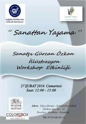 İllüstrasyon Sanatçısı Gürcan Özkan ile Seminer