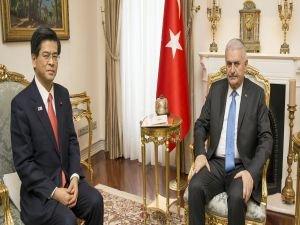 Başbakan Yıldırım, Japon Bakanı kabul etti