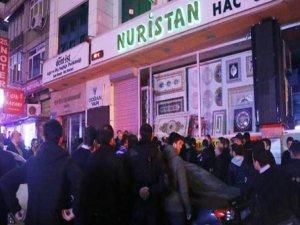 Fatih MHP İlçe Binasında arbede