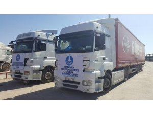 Deniz Feneri'nden Suriye'ye Üç Tır yardım!
